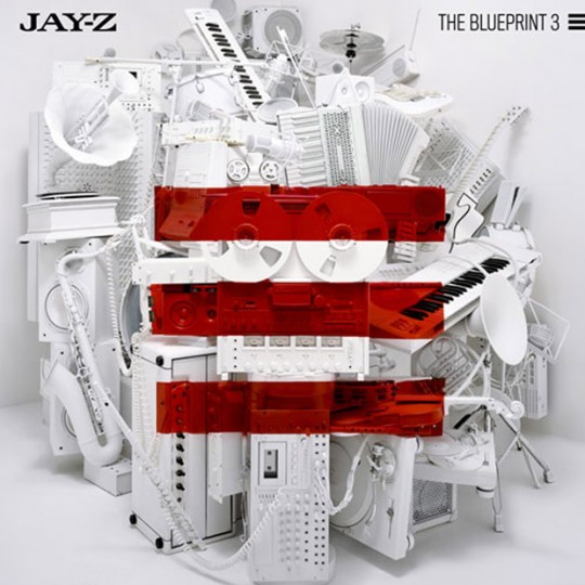 Blueprint 3 return of the real or paper mache jay planet jay z the blueprint 3 album cover 540x540 malvernweather Image collections