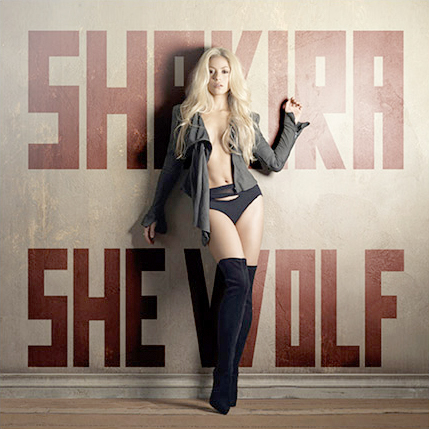shakira album she wolf. Album Review: Shakira-She Wolf