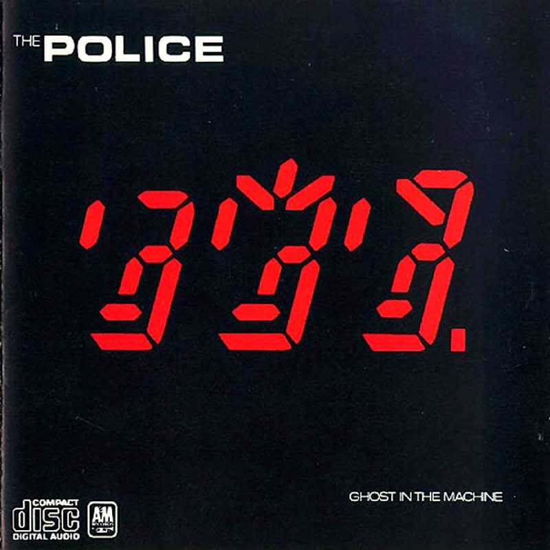 Divas & Band leaders ThePolice-GhostInTheMachine-Front