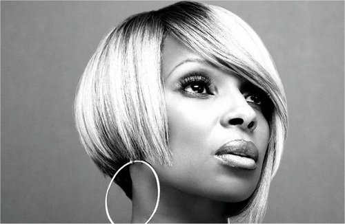 mary j blige hair color. Video: Mary J. Blige Feat